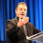 Wayne Hilsden preaching