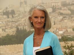Anne Graham Lotz outdoors in Jerusalem