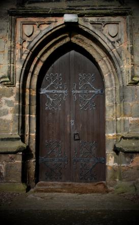 Imposing Church Door XSmall